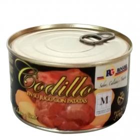 Lata de codillo en su jugo con patatas Rogusa 410 g.