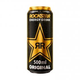 Bebida energética Rockstar Original 50 cl.