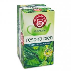 Infusión en bolsitas Respira Bien Pompadour 20 ud.