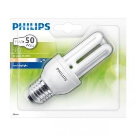 Bombilla Fluorescente Philips Genie 11W CDL E27 Luz Fría