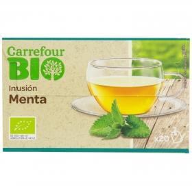 Menta en bolsitas ecológica Carrefour Bio 20 ud.
