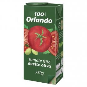 Tomate frito con aceite de oliva virgen extra Orlando sin gluten tarro 780 g.