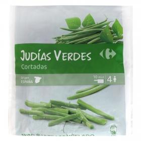 Judía troceada Carrefour 1 kg.