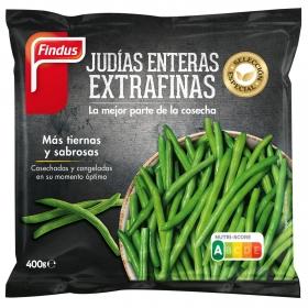 Judía entera extrafina Findus 400 g.