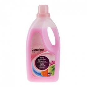 Detergente Líquido para Ropa de Lana y Prendas Delicadas 40 Lavados Carrefour