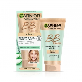 Crema facial BB Cream pieles claras Garnier-Skin Active 50 ml.