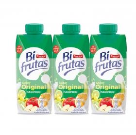 Zumo Pacífico Original Bifrutas pack de 6 briks de 33 cl.