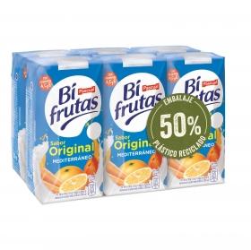 Zumo Mediterráneo Original Bifrutas pack de 6 briks de 20 cl.