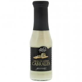 Salsa de queso de cabrales Salsas Asturianas botella 287 g.