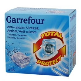 Antical para lavadoras en pastillas Carrefour 45 ud.