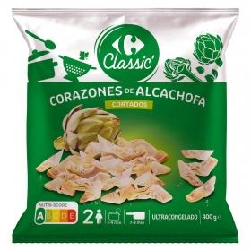 Cortes de alcachofa Carrefour 400 g.