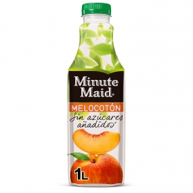 Néctar de melocotón Minute Maid botella 1 l.