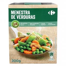 Menestra de verduras Carrefour 300 g.