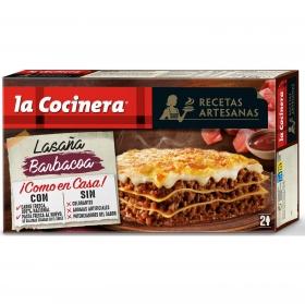 Lasaña Barbacoa La Cocinera 530 g.