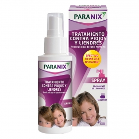 Spray tratamiento contra piojos y liendres Paranix 60 ml.