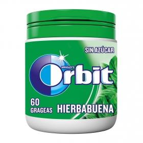 Chicles sabor hierbabuena Orbit 60 ud.