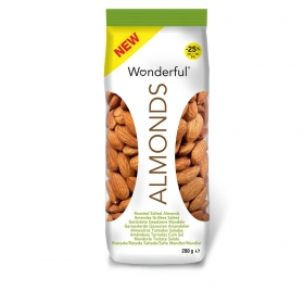 Almendras tostadas con piel Wonderful 200 g.
