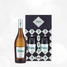 LOTE 98: 2 botellas D.O. Rueda Protos blanco verdejo 75 cl.
