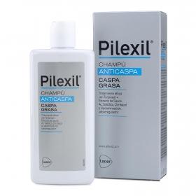 Champú caspa grasa Pilexil 300 ml.