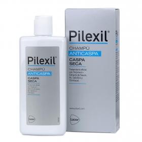 Champú caspa seca Pilexil 300 ml.