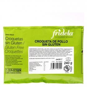 Croquetas de pollo Fridela sin gluten 240 g.