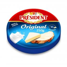 Queso en porciones rico en calcio Président 250 g.