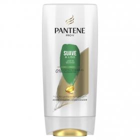 Acondicionador Suave y Liso para cabello seco Pantene 675 ml.