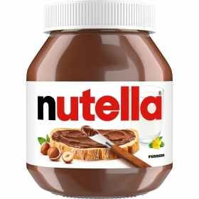 Crema de cacao y avellanas Nutella 825 g.