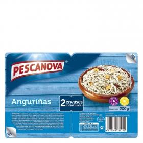 Anguriñas Pescanova pack de 2 unidades de 100 g.