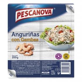 Anguriñas con cambas Pescanova 200 g.
