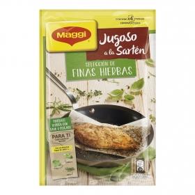 Sazonador para pechugas de pollo a las finas hierbas Jugoso a la Sartén Maggi 4 ud.