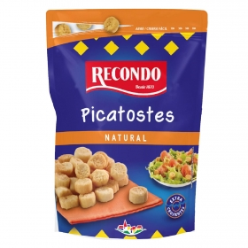 Picatostes sabor natural Recondo 75 g.