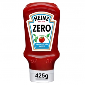 Kétchup Zero Heinz envase 425 g.
