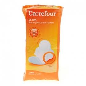 Compresas ultra con alas normal Carrefour 28 ud.