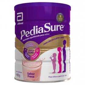 Complemento Alimenticio desde 12 meses sabor fresa Pediasure 850 g.