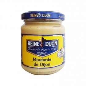 Mostaza extra fuerte Reine de Dijon tarro 200 g.