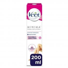 Depilatorio Crema piel normal Veet 200 ml.