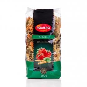 Farfalle vegetales Romero 500 g.