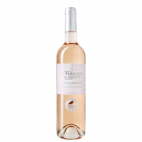 Vino francés rosado joven Les Terrasses du Golfe 75 cl.