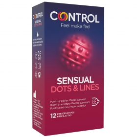 Preservativos Touch & Feel Control 12 ud.