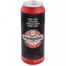 Cerveza Koenigsbier extra fuerte lata 50 cl.
