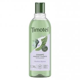 Champú de Hierbas Revitalizadoras & Kiwi para cabellos normales Timotei 400 ml.