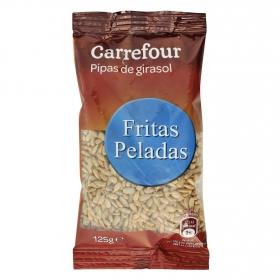 Pipas de girasol peladas Carrefour 125 g.