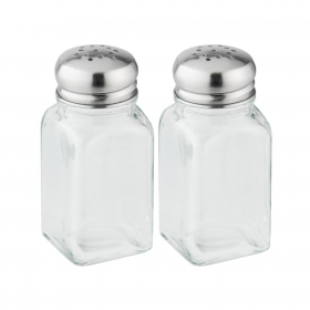 Set Saleros FACKELMANN Pouring & Dispensing 10cm. - Transparente
