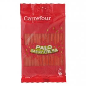 Palo de goma sabor fresa Carrefour 150 g.