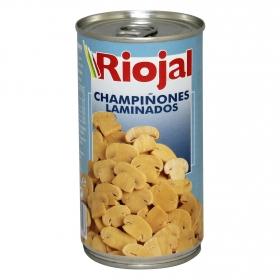 Champiñones laminados Riojal 185 g.