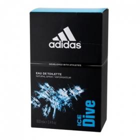 Agua de colonia masculina ice dive Adidas 100 ml.