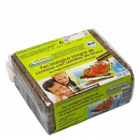 Pan de centeno integral con semillas de linaza ecológico Casa Westfalia 500 g.