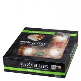 Roscón de reyes mediano nata-crema Carrefour 850 g