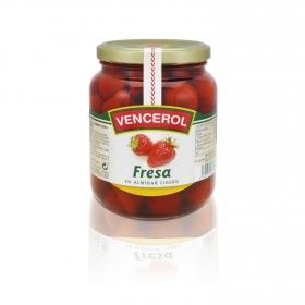Fresas en almíbar Vencerol 700 g.
